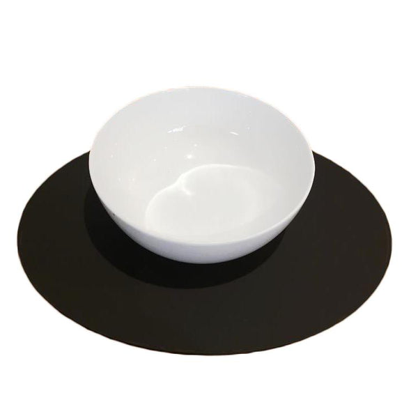 Oval Placemat Set - Mocha Brown
