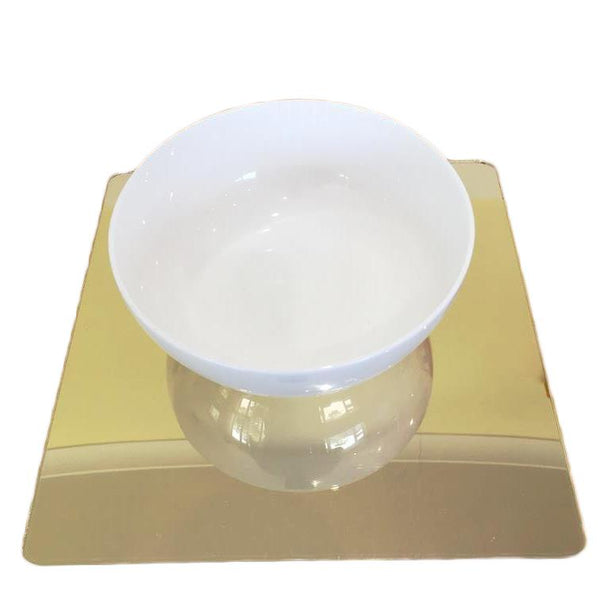 Square Placemat Set - Gold Mirror