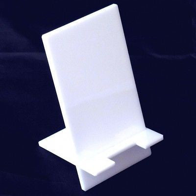 White Desktop Smart Phone/Mini Tablet Stand