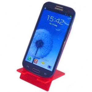 Red Desktop Smart Phone/Mini Tablet Stand