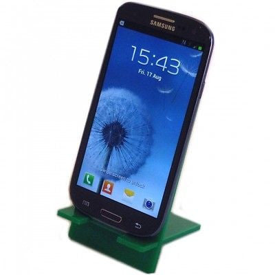 Green Desktop Smart Phone/Mini Tablet Stand