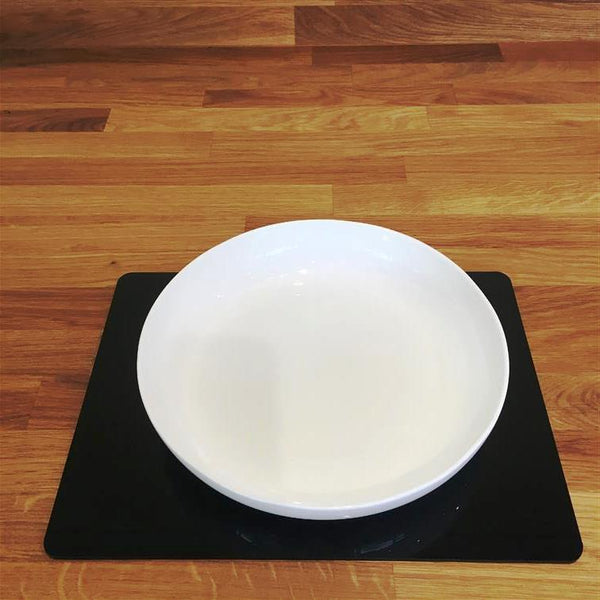 Rectangular Placemat Set - Black