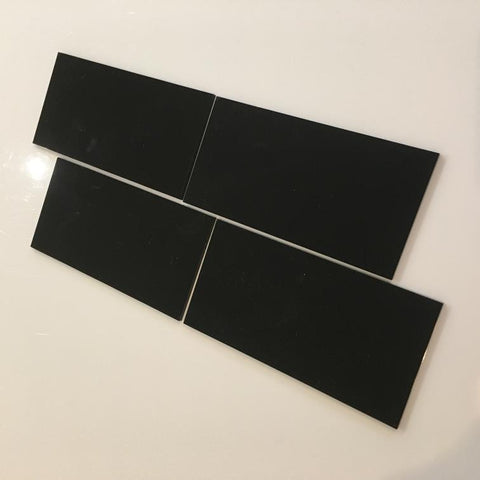 Rectangular Tiles - Black