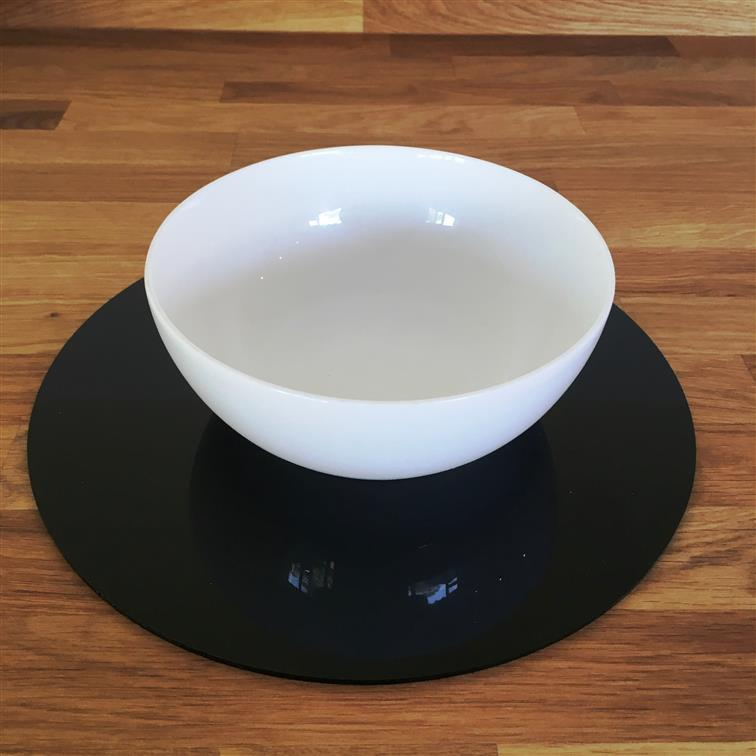 Round Placemat Set - Black