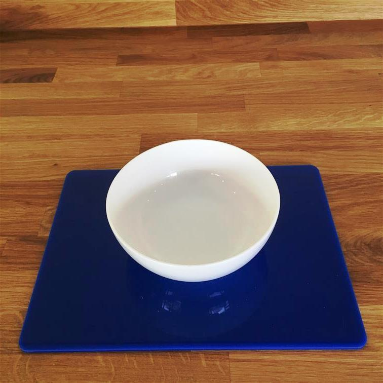 Rectangular Placemat Set - Blue