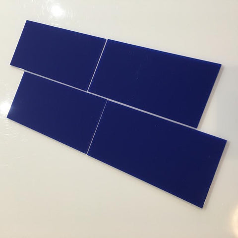 Rectangular Tiles - Blue