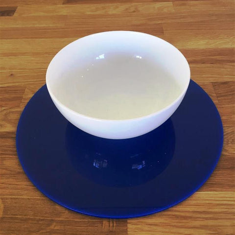 Round Placemat Set - Blue