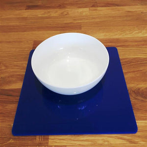 Square Placemat Set - Blue