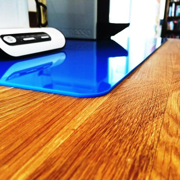 Rectangular Worktop Saver - Bright Blue
