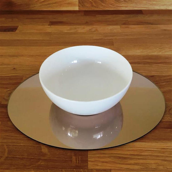 Oval Placemat Set - Bronze Mirror