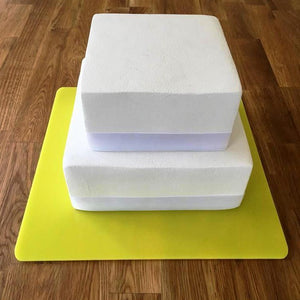 Square Cake Board - Yellow