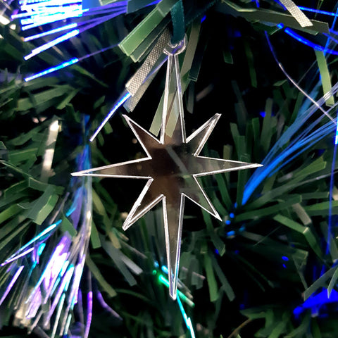 Christmas Star Christmas Tree Decorations
