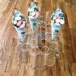 Wedding Favour Stand - Clear