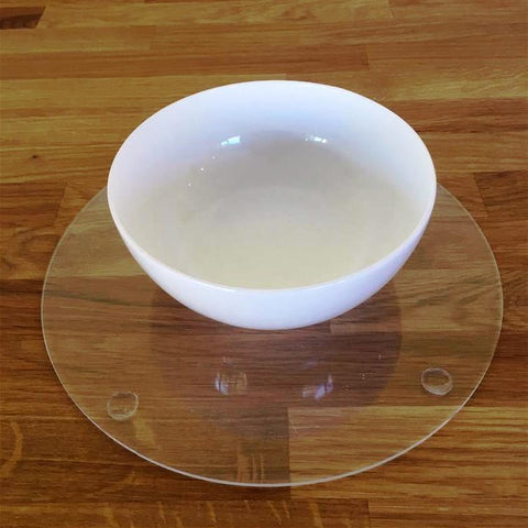 Round Placemat Set - Clear