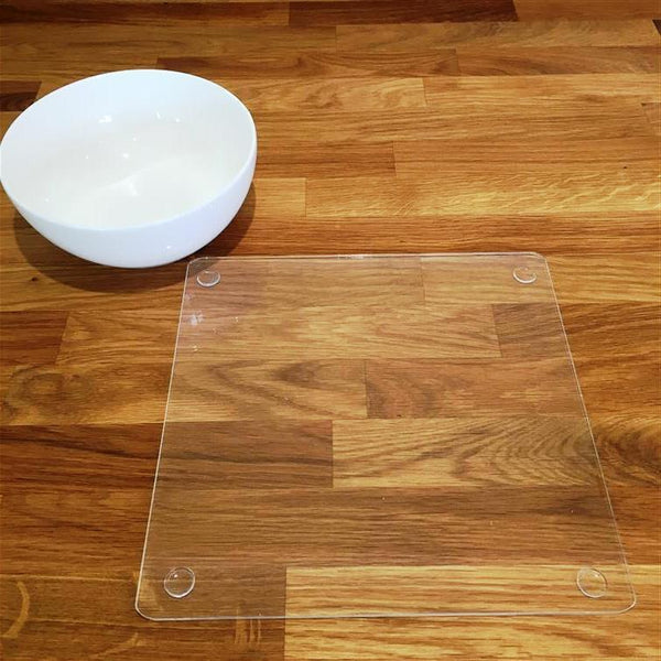 Square Placemat Set - Clear