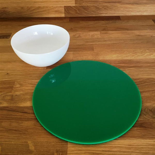 Round Placemat Set - Green