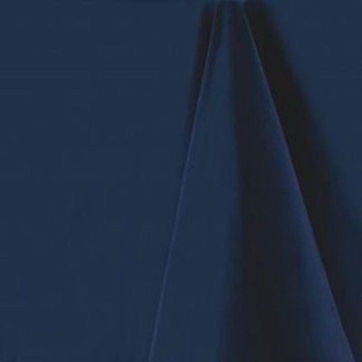 Navy Blue Round Tablecloth