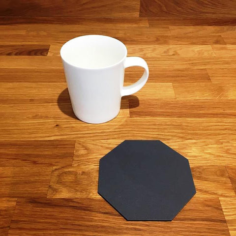 Octagonal Coaster Set - Graphite Grey
