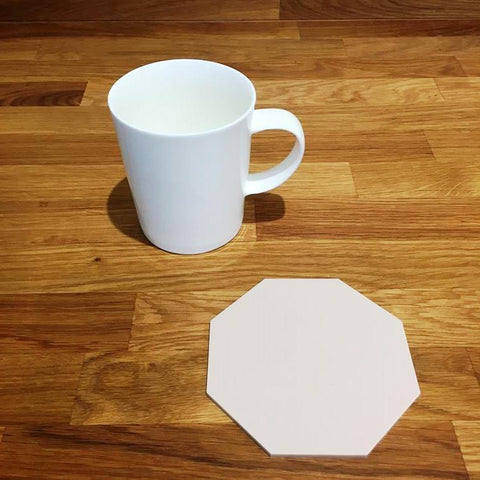 Octagonal Coaster Set - Latte