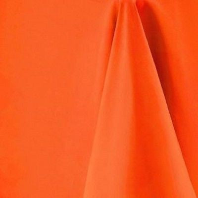 Orange Rectangular Tablecloth