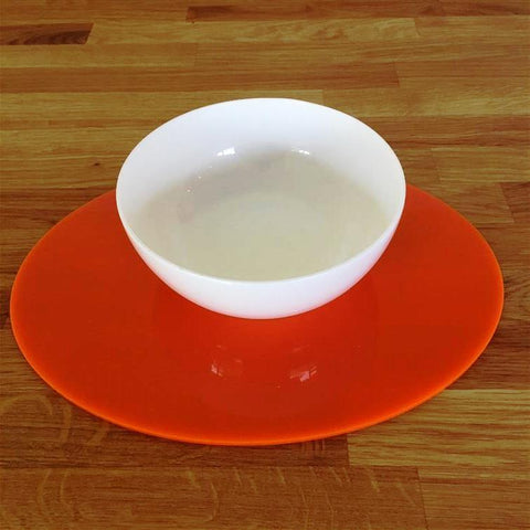 Oval Placemat Set - Orange