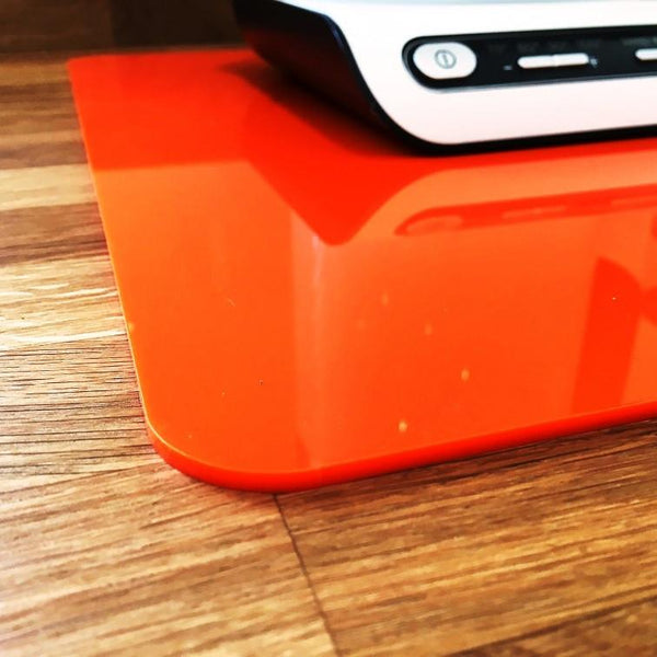 Rectangular Worktop Saver - Orange