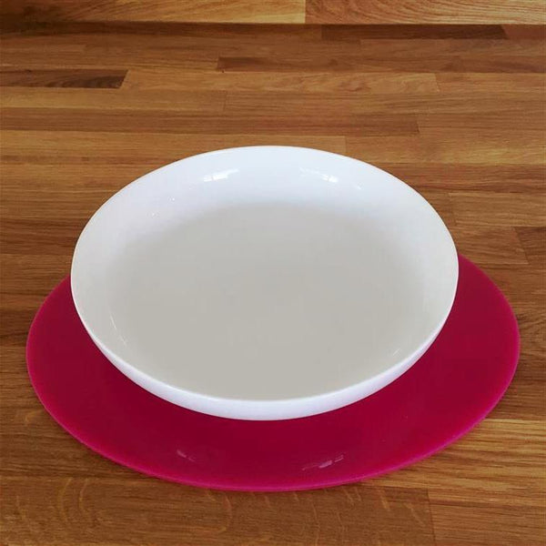 Oval Placemat Set - Pink