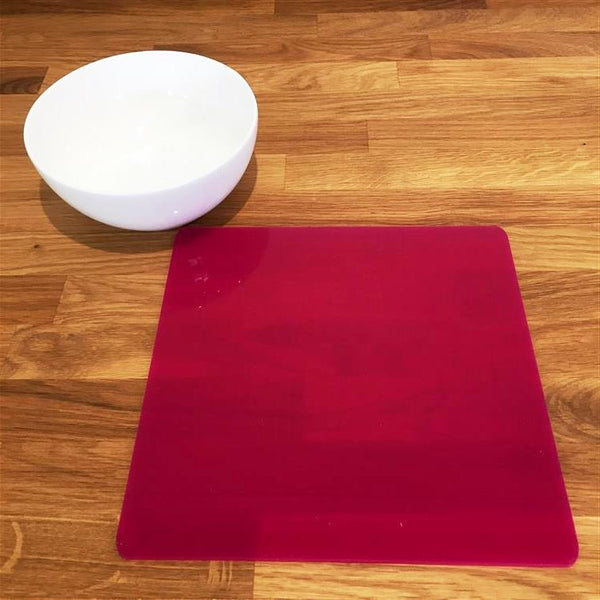 Square Placemat Set - Pink