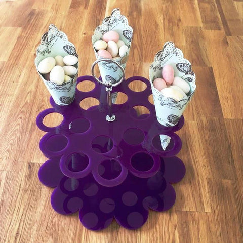 Wedding Favour Stand - Purple