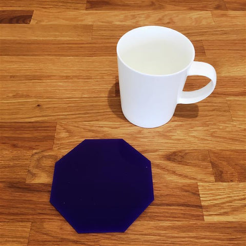 Octagonal Coaster Set - Purple