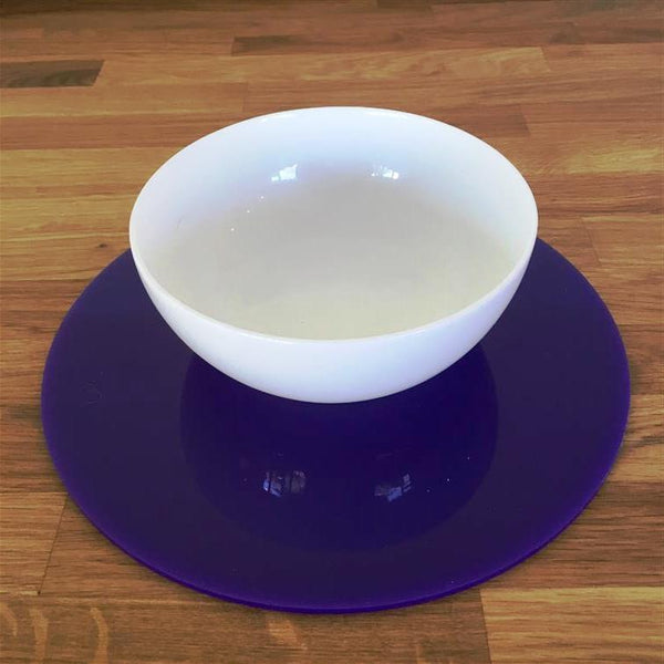 Round Placemat Set - Purple