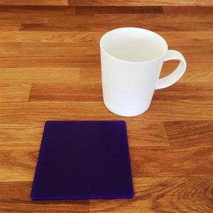 Square Coaster Set - Purple