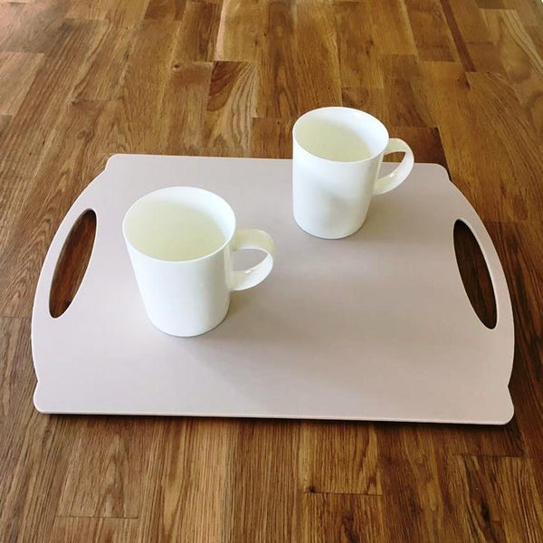 Rectangular Flat Serving Tray - Latte