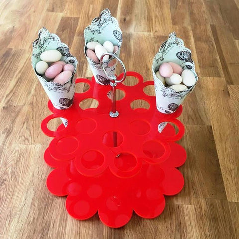 Wedding Favour Stand - Red