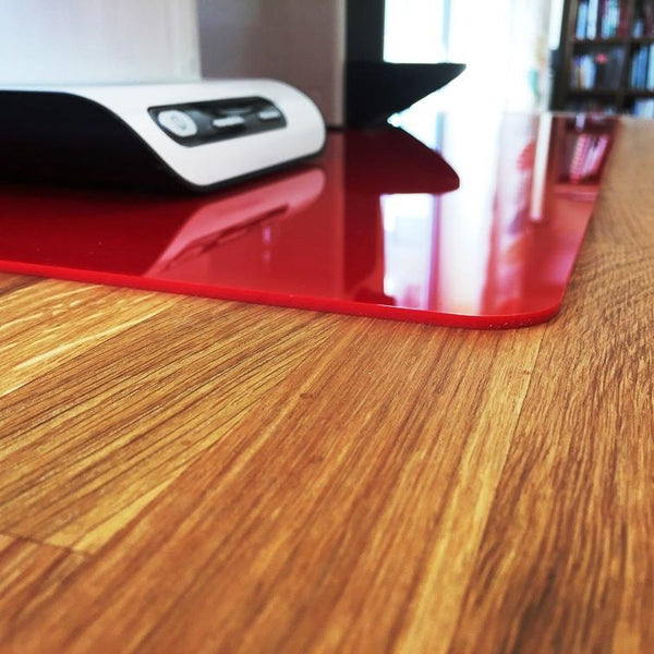 Square Worktop Saver - Red