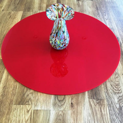 Round Worktop Saver - Red