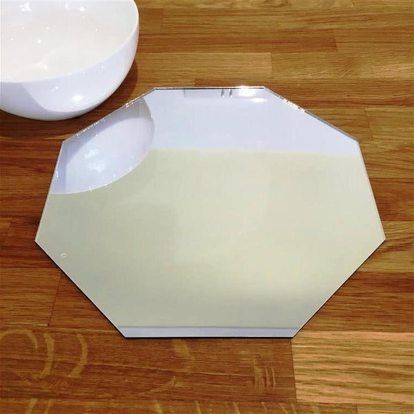 Octagonal Placemat Set - Mirrored