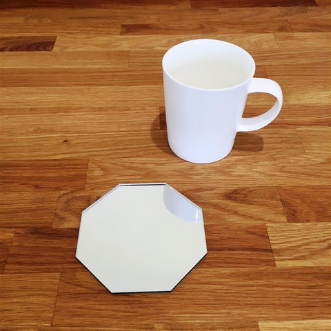 Octagonal Coaster Set - Mirrored