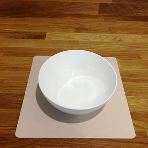 Square Placemat Set - Latte