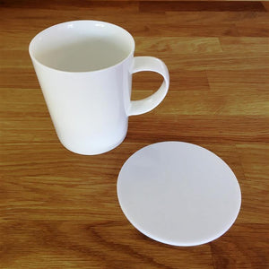 Round Coaster Set - White
