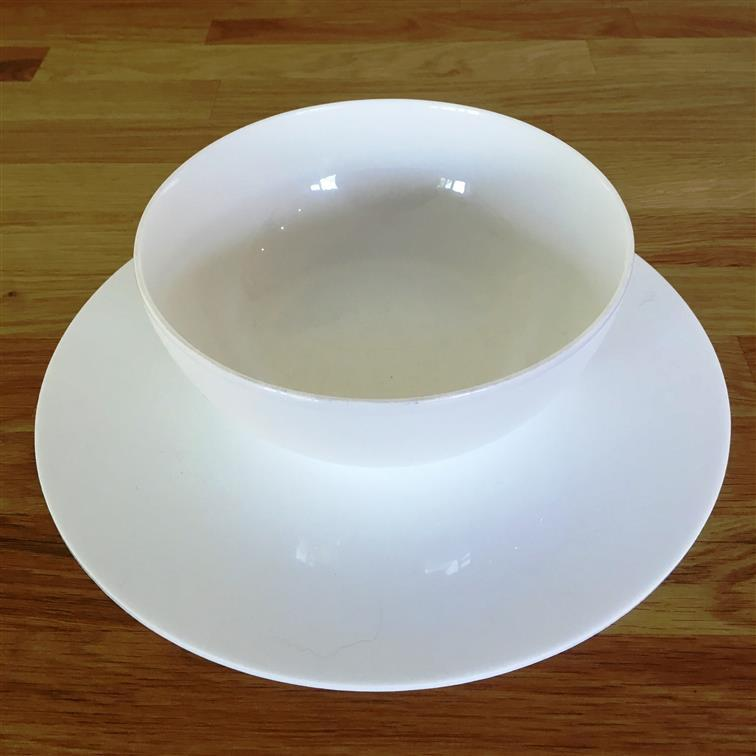 Round Placemat Set - White
