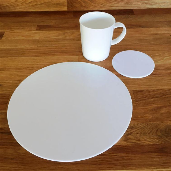 Round Placemat & Coaster Sets