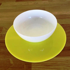 Round Placemat Set - Yellow