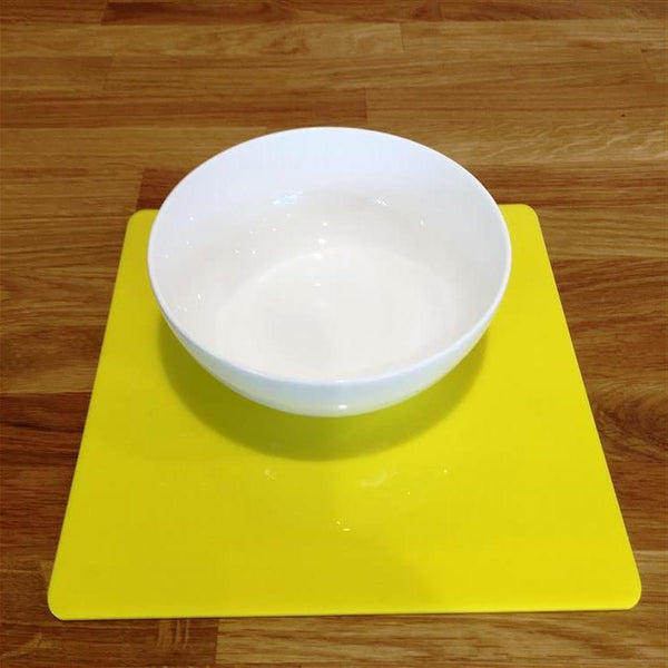 Square Placemat Set - Yellow
