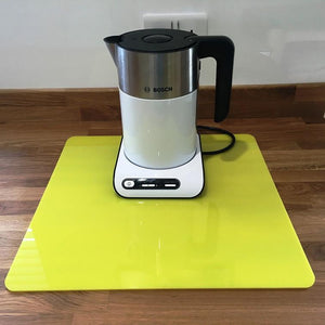 Square Worktop Saver - Yellow