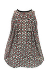 Helena and Harry Girl's Tulips on Trellis Dress