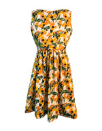 Helena and Harry Girl's Yellow Flower Print Dress