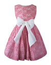 Helena and Harry Girl's Pink Lace Cupcake Dress