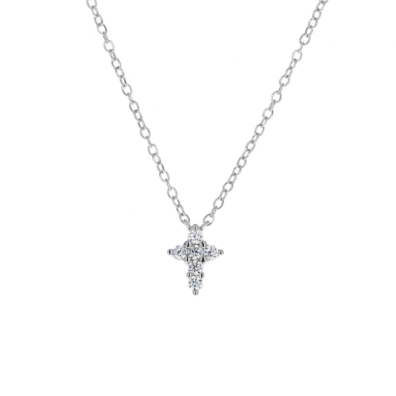 Helena and Harry Cross on Sterling Silver Chain Necklace