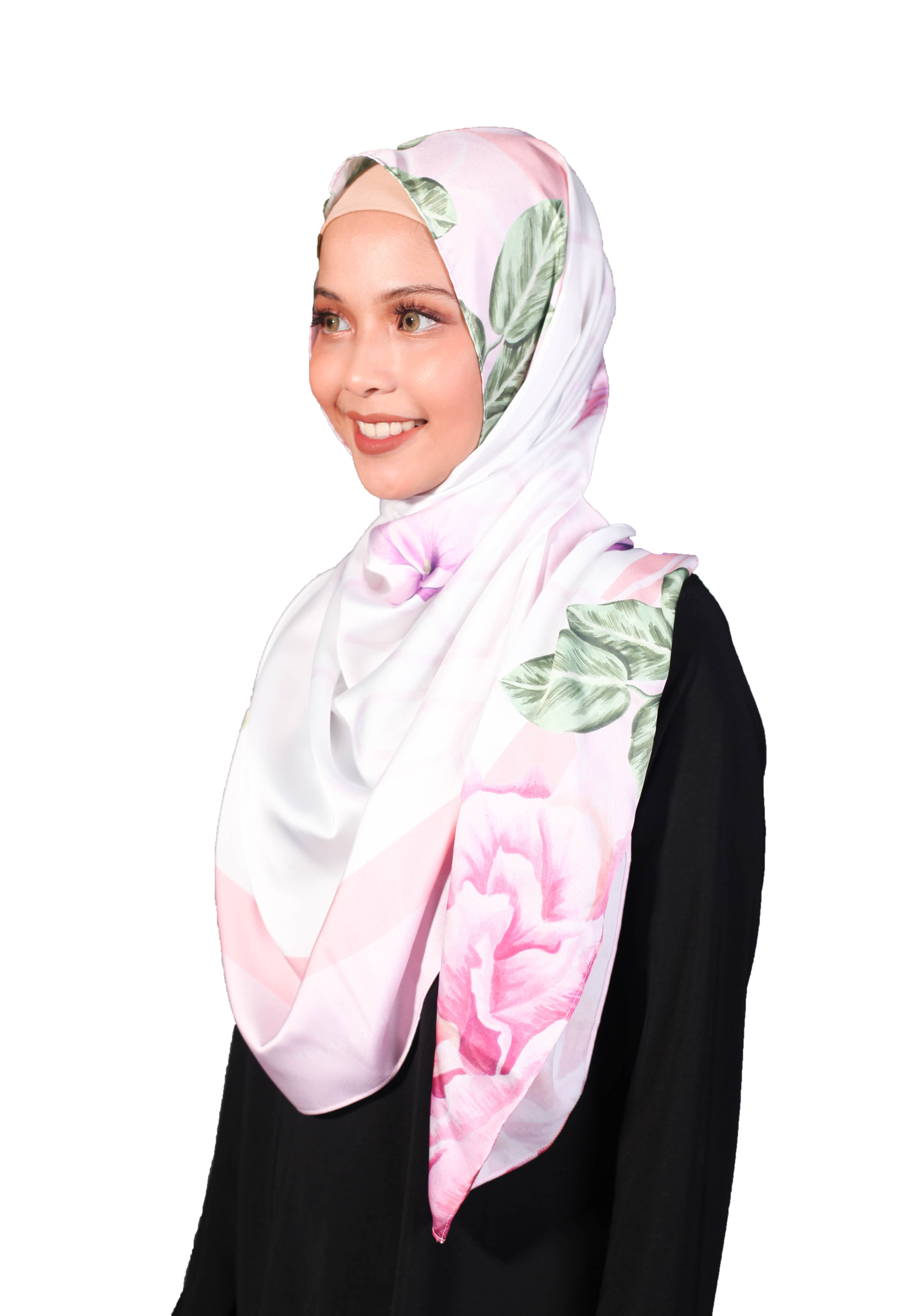 Bawal Satin Luxe - Rose